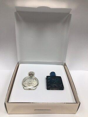 Versace Eros Pour Homme EDT 5ml & Pour Femme EDP 5ml Miniatures Set