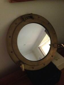 Brass Porthole Mirror Moree Moree Plains Preview