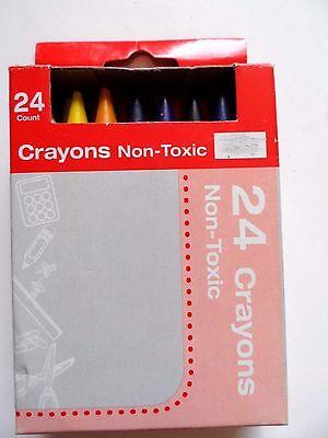 Non-Toxic 24 Crayons  - Non Toxic Crayons