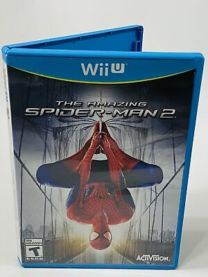The Amazing Spider Man 2 Nintendo Wii U Tested and Working