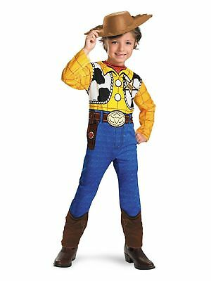 Disguise Disney Pixar Toy Story Woody Boy's Toddler Halloween Costume XS 3T-4T (Toddler Woody Costume)