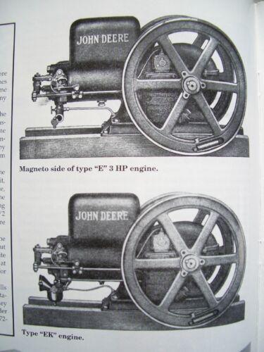 John Deere model E Stationary engine Info - Green Magazine tractor