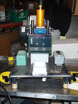 Pneumatic Press With Plc Control Osha Ready