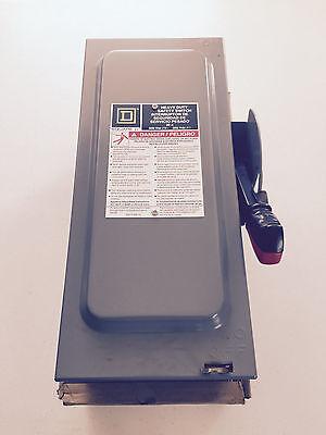 Square D HU361EI Heavy Duty Safety Switch 600V 30A NIB