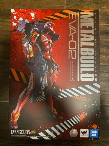 Bandai Tamashii Nations Metal Build EVA-02 Test Evangelion Figure