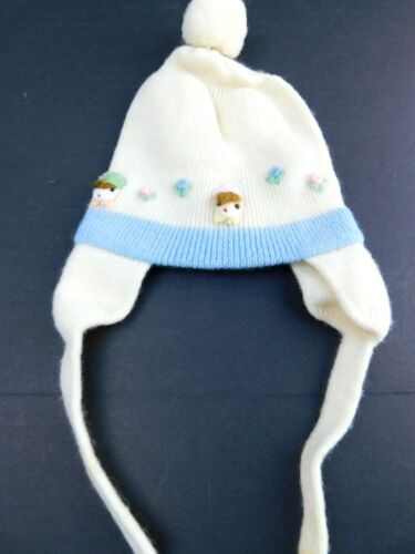 Vintage Made in Japan 100% Wool Baby Knit Hat