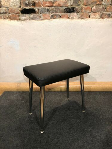 Genuine Leather Wurlitzer 200 series BENCH with Legs and Plates - Black or Beige