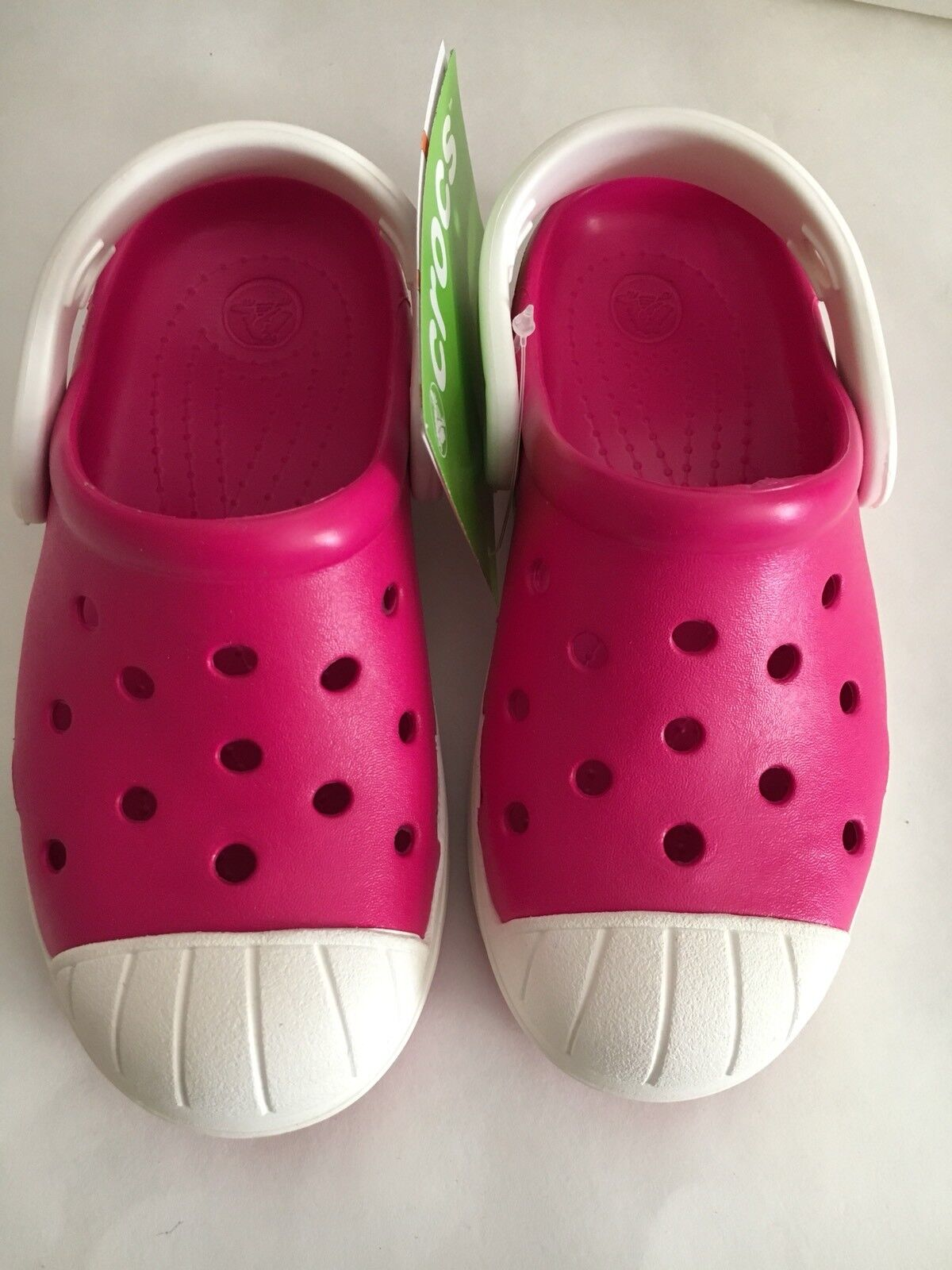 Crocs Bump It sandal slipper clog toddler Girl US size 10, 11, 12, 13 Pink