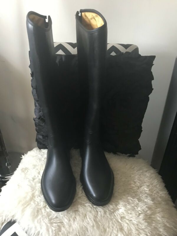 Horseware Ireland LadiesSynthetic Leather Riding Boots with Rubber Sole Sz 8.5 W