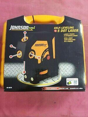 Johnson 5-dot Self-leveling Laser 40-6678