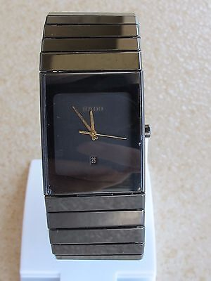 RADO DIASTAR 152.0347.3 HIGH-TECH CERAMICS  QUARTZ MENS SWISS MADE
