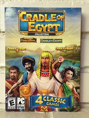 Computer Games - cradle of egypt --- 4 classic adventure computer games --- new
