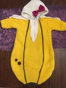 Baby Banana Halloween Costume