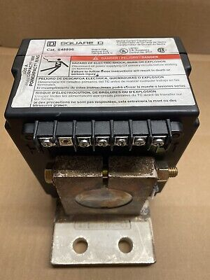 Square D S48896 2000 Amp Neutral Current Transformer Warranty