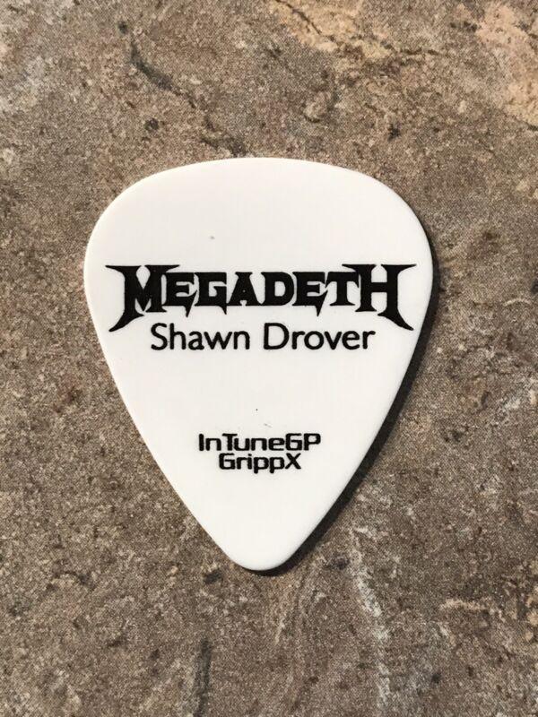 "Megadeth ""Shawn Drover"" 2013 Super Collider Tour Guitar Pick"