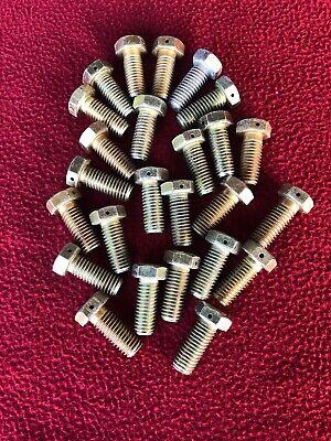 1//2-20 Fine Thread 2-3//4 In Long Tru-Lite Titanium Bolt 3//4 In