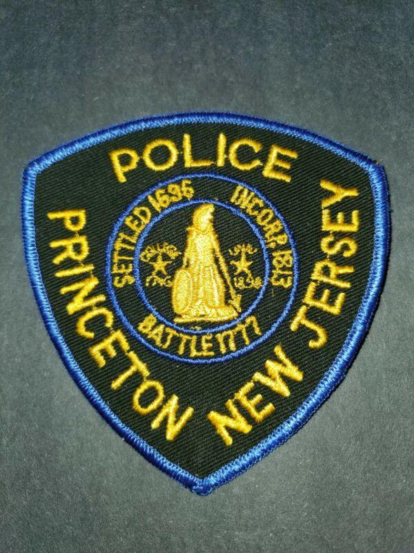 Princeton New Jersey Police Patch