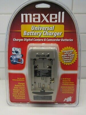 Maxwell Universal Battery Charger New in package for Digital -