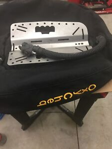 Dive Plate and Oxycheq 55 lb Doubles Wing