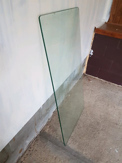 Free thick glass for top of table
