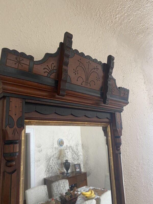 Antique Eastlake Mirror 1880