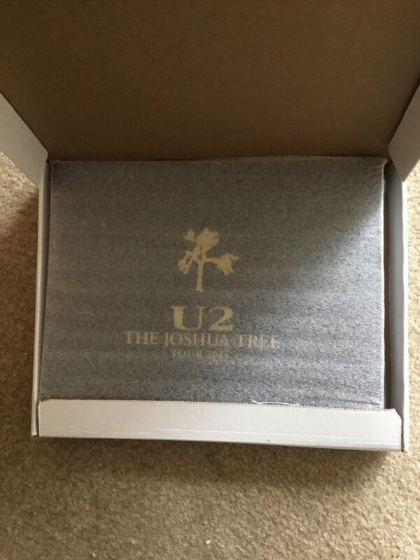RARE U2 THE JOSHUA TREE TOUR 2017 LIMITED EDITION VIP BOOK WITH HARMONICA & MORE