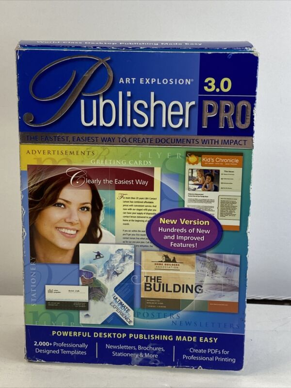Art Explosion Publisher Pro 3.0