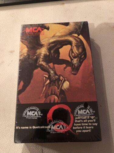 Q The Winged Serpent Beta Rare Original 1982 Release Horror Cult Sci-fi Sealed - $79.99