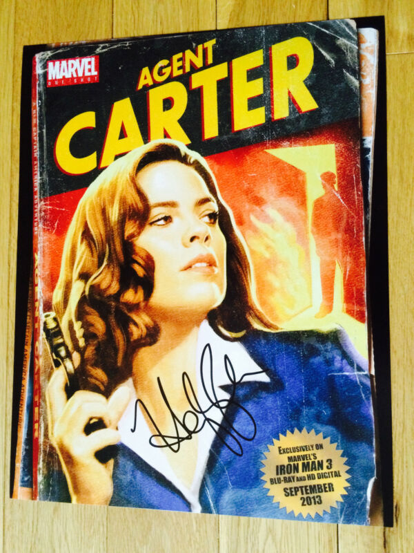 HAYLEY ATWELL SIGNED 11X14 PHOTO EXACT PROOF COA AUTOGRAPHED AGENT CARTER 2