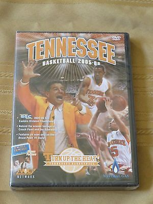 Tennessee Volunteers Basketball 2005 06 Turn Up The Heat DVD New Bruce Pearl