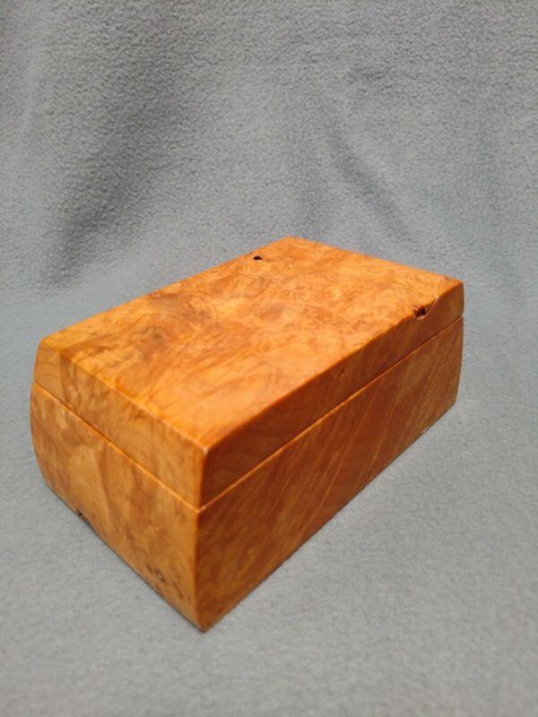 Michael Elkan Wooden Burl Box
