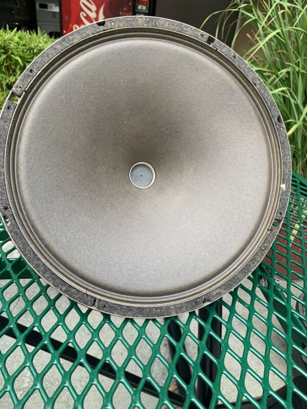 vintage 15-inch Field Coil Single