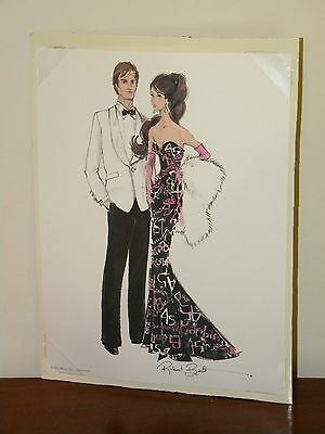 Sketch Only from 45th Anniversary Silkstone Barbie & Ken Giftset Robert