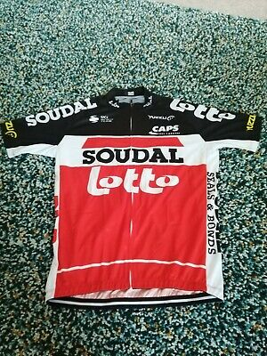 Team Lotto Soudal  2020 cycling Jersey Red 40 Chest