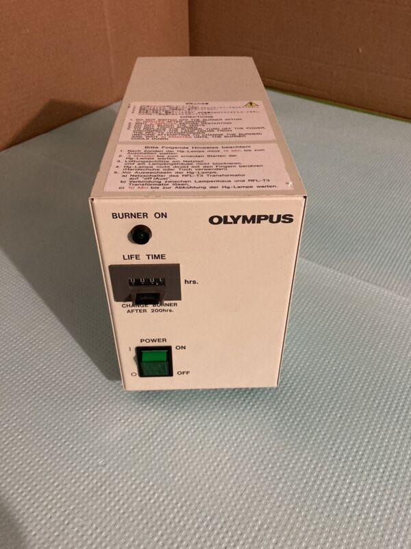 Olympus BH2-RFL-T3 Power Supply For 100W High Pressure Mercury Burner