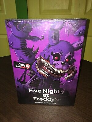 Five Nights At Freddy's Halloween (Five 5 Nights At Freddy's TwistedBonnie 1000 Puzzle Halloween Activities Fun)