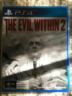 The Evil Within 2 for Playstation 4 - Unopened, Brand New