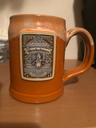 Bones Coffee Company Wunderbones Oktoberfest Mug Deneen Pottery