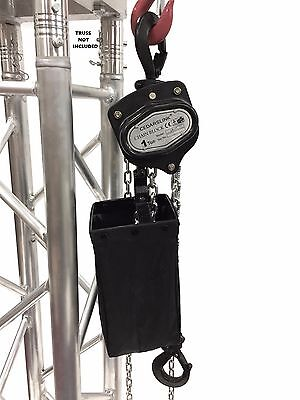 1 Ton 2000 Lb Hand Chain Block Manual Hand Hoist With 26 Lift Dj Trussing Truss