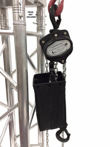1 Ton 2000 LB Hand Chain Block Manual Hand Hoist with 26