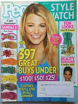 BLAKE LIVELY June 2011 PEOPLE STYLE WATCH (Blake Lively Style)