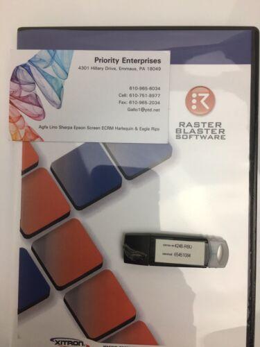 Raster Blaster With Pt-rxxx Xitron Blue Box