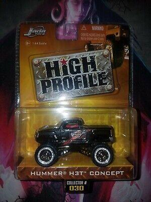 Jada Toys High Profiles Hummer H3T Concept (Black)