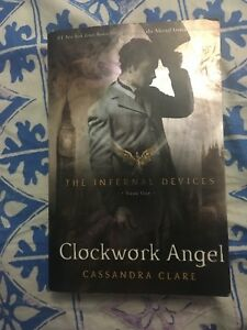 CLOCKWORK ANGEL FIRST EDITION COVER