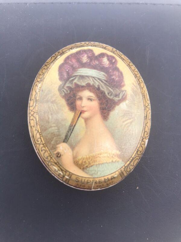 Vintage Stearns Perfumer Suprema Tin