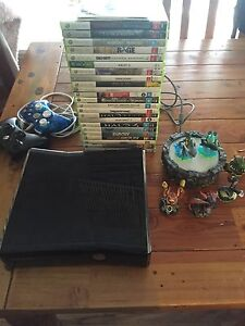 Xbox 360 slim, controllers, skylanders +games Blaxland Blue Mountains Preview