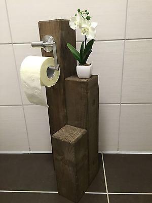 Toilettenpapierhalter-Papier- Klorollenhalter Rustikal WC Rolle Vintage