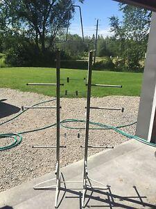 Hockey/sports equipment drying rack