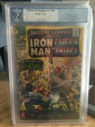 Tales of Suspense #80 Cosmic Cube Red Skull Captain America PGX 9.2