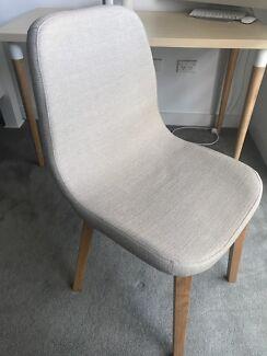 Dining/Desk Chair: Light Grey